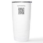 Quit Resisting Ceramic Travel Mug