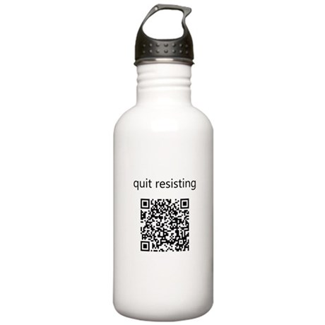 Quit Resisting Stainless Water Bottle 1.0L