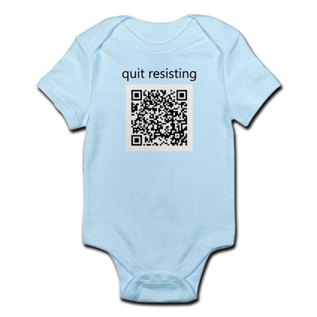Quit Resisting Infant Bodysuit