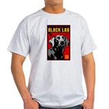 Obey the BLACK LAB! Ash Grey T-Shirt