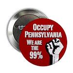 Occupy Pennsylvania campaign button