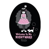 Nightmare Ornament (Oval)