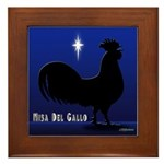 Misa Del Gallo Framed Tile