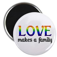 Love Makes A Family Magnet