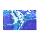 Dolphins- God's Creatures Car Magnet 20 x 12