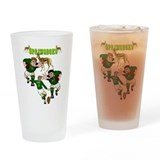 South africa rugby Pint Glasses