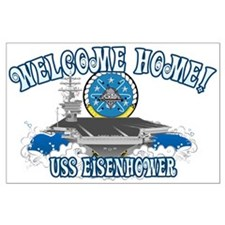 Welcome Eisenhower Large Poster