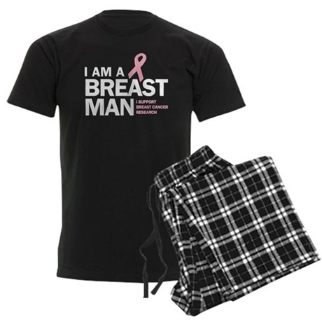 Breast Man Men's Dark Pajamas