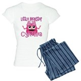 Little Monster Cynthia pajamas
