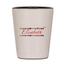 Elisabeth with Flowers Shot Glass