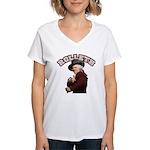 Rolleth Women's V-Neck T-Shirt