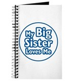 Big Sister Loves Me Journal