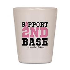 Save 2nd Base Shot Glass
