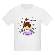 Hot Fudge Sundae Ice Cream Kids T-Shirt