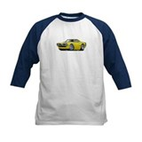 1970 Super Bee Yellow Hood Scoop Car Tee