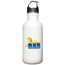 Yellow Labrador Retriever Dad Water Bottle