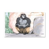 Gorilla- God's Creatures Car Magnet 20 x 12