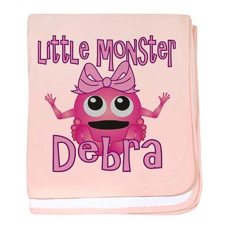 Little Monster Debra baby blanket