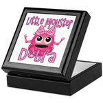 Little Monster Debra Keepsake Box