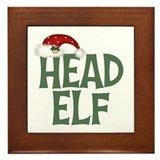 Head Elf Framed Tile