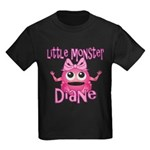 Little Monster Diane Kids Dark T-Shirt