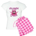 Little Monster Diane Women's Light Pajamas