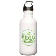 My Uncle Loves Me Water Bottle
