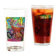 Oh Deer God Drinking Glass