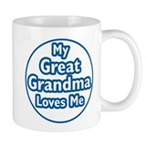 Great Grandma Loves Me Mug