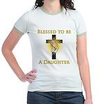 Blessed Daughter Jr. Ringer T-Shirt