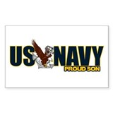Navy Son Decal