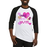 OYOOS Sweetie Pie design Baseball Jersey