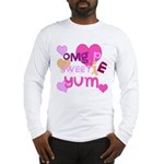 OYOOS Sweetie Pie design Long Sleeve T-Shirt
