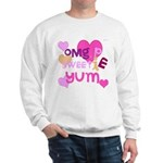 OYOOS Sweetie Pie design Sweatshirt