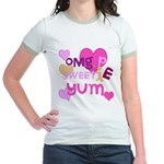 OYOOS Sweetie Pie design Jr. Ringer T-Shirt