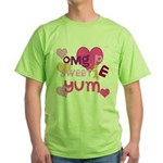 OYOOS Sweetie Pie design Green T-Shirt