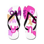 OYOOS Sweetie Pie design Flip Flops
