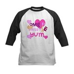 OYOOS Sweetie Pie design Kids Baseball Jersey