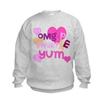 OYOOS Sweetie Pie design Kids Sweatshirt