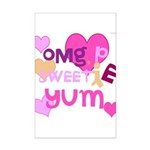 OYOOS Sweetie Pie design Mini Poster Print