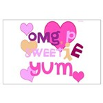 OYOOS Sweetie Pie design Large Poster