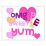 OYOOS Sweetie Pie design Small Poster