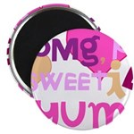 OYOOS Sweetie Pie design Magnet