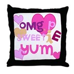 OYOOS Sweetie Pie design Throw Pillow