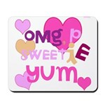 OYOOS Sweetie Pie design Mousepad