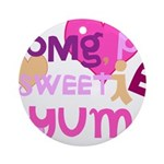 OYOOS Sweetie Pie design Ornament (Round)