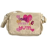 OYOOS Sweetie Pie design Messenger Bag