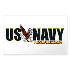 Navy Grandpa Decal
