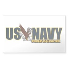 Navy Daughter Decal