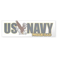 Navy Dad Sticker (Bumper)